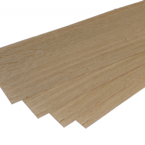 "European Oak. Set of 4 leafs : 22"" x 6.5""  ( 56 x 16 cm )"